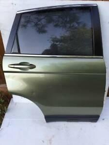Honda CRV 2007 passenger rear door green