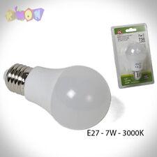 9336 Bombilla LED E27 - 7W 3000k luz calida