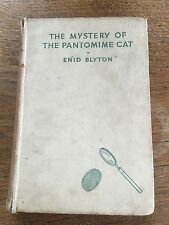 c1949 1st Ed THE MYSTERY OF THE PANTOMIME CAT by Enid Blyton Illustrated J Abbey