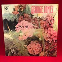 GEORGE JONES Life - 1973 UK Vinyl LP EXCELLENT CONDTION