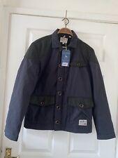 Mens Xs Jack Wills Jacket Bnwt Barbour Style Shooting Hunting Coat Rrp£129 Black