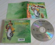 CD ALBUM WALT DISNEY LE LIVRE DE LA JUNGLE BOF VERSION FRANCAISE 16 TITRES 1994