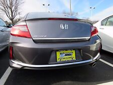 REAR TRUNK LID CHROME ACCENT TRIM STRIP FITS 2013 2017 HONDA ACCORD 2 DOOR COUPE