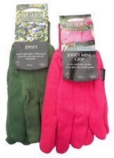 Briers Gardeners Gloves Medium S8 Green or Pink Jersey Gardening Work Freepost!