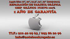 Apple iMac 27″  mid 2011 A1312 Reparación tarjeta gráfica Radeon HD 6770M 6970M