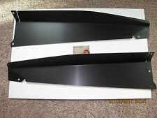 1967 - 1968 Chevy GMC Truck Show Panel 2 pc Black Anodized SHARP