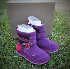 NEW STRIDE RITE Medallion Roslin Purple Flower Toddler Ankle Boots Size 4.5 W