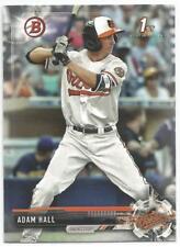 Adam Hall Baltimore Orioles 2017 1st Bowman Draft Baseball