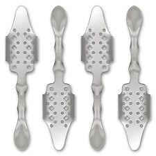 4x Absinth Löffel Bistro - Absinthe Spoon - Cuillère à Absinthe - Besteck