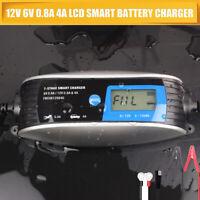 intelligentes Batterieladegerät 6 V/12 V 120Ah Batterieerhaltungsgerät KFZ Auto