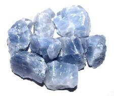 Rough Blue Calcite Stones 1/2 lb Lot Free Shipping