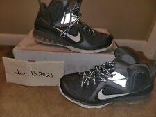 Nike LeBron 9 Cool Grey 2012 size 15