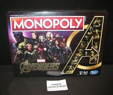 Marvel Avengers Endgame Monopoly special edition board game gold color pieces