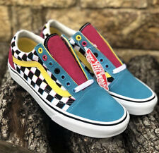 New! VANS Old Skool Crazy Check CMYK Limited SOLD OUT IN STORES! Men's Size 11