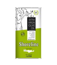 "5/1L Greek Shoreline Ex.Virgin Olive Oil Crete ""FRESH"" Cold Press Lot"