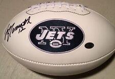 Joe Namath New York Jets Autographed White Panel Team Football w/Namath Hologram