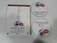 A Roma Con Amore Edizione Collezzionista Blu-Ray + DVD Libro Spagnolo English Am