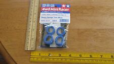 Tamiya 4WD Mini Racer Reston Sponge Tires ( Blue) Item 15117