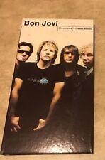 Chronicles Long Box 3 disc Box Set Bon Jovi New Jersey Blaze of Glory w/ Books