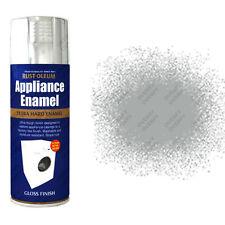 x 2 Rust-Oleum ELETTODOMESTICO SMALTO SPRAY VERNICE SPRAY acciaio inox lucido