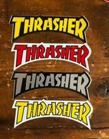 "4 VTG Thrasher Skateboard Magazine sticker  5.5""  Dogtown Powell Anti-Hero Real"