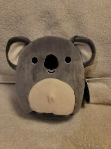 "Squishmallow KIRK The Koala Gray And White 8"" Plush - NWT"