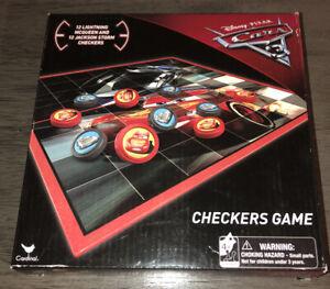 Disney Pixar Cars 3 Checkers Game New In Box