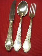 Rokoko Besteck HAGERBO 6 Personen 64 teile 100er Silber