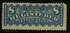 Canada   1876   Unitrade # F 3    Mint Hinged   Fine / Very Fine