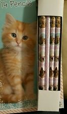 14 pcs Cute Cats Dogs Animal PENCILS Birthday Party Supplies Favors Stationery
