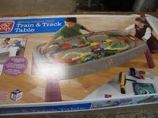 STEP 2 754700 CANYON ROAD TRAIN & TRACK CAR SET CRAFT ACTIVITY TABLE CENTER