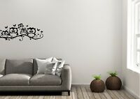 Owls On A Branch Inspired Design Home Wall Art Decal Vinyl Sticker