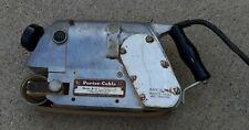 Porter Cable Model A-2 Belt Sander TOOL Locomotive Style metal USA MADE vtg OLD
