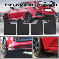 For Honda Civic Type R Mudguard Mud Flaps Splash Guards Mudflaps Fender Car