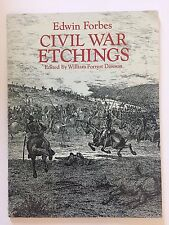 Dover Pictorial Archive: Civil War Etchings by Edwin Forbes (1994, Paperback, Re