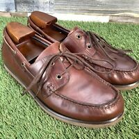 UK8.5 M&S Blue Harbour Moccasin Boat Deck Shoes - Casual Comfort - EU42.5