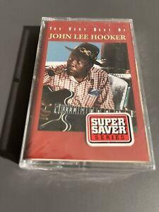 The Very Best Of John Lee Hooker Brand New Sealed CASSETTE TAPE