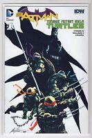 Batman / TMNT DC Comics IDW #1 Teenage Muntant Turtles (Fried Pie Comics)