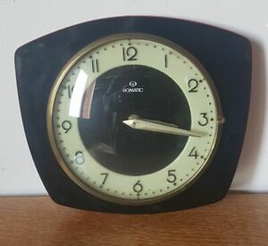 Clock Romatic Vintage IN Formica