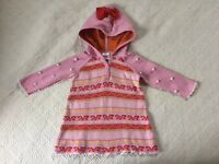 Hanna Andersson Cindy Lou Who, Grinch, Sweater Dress, 80, GUC, Pink