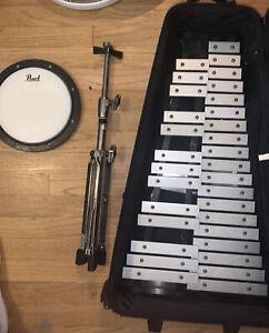 Pearl 32 Note Glockenspiel Metallophone Bell Kit (Complete Set)