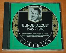 Illinois Jacquet 1945 - 1946 The Chronogical - 1997 French Classics Records CD