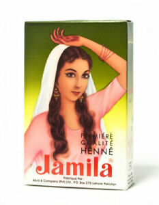 2 Pack! 100gm Jamila Pure Henna Powder Mehandi For Hair USA SELLER