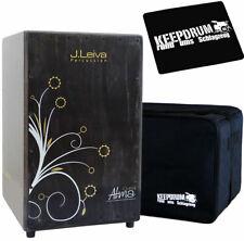 J.Leiva Alma Classe Cajon + keepdrum Tasche und Sitz-Pad