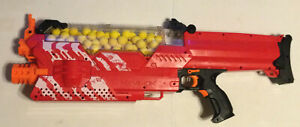 Nerf Rival Nemesis Mxvii-10k Red W/ Rechargeable Battery, 100 Ammo