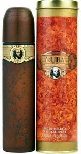 Mens Perfume Gift Cuba Original EDT Natural Spray Original 100ml.