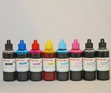 8X100ML refillable ink for canon pro 100 100S printer CLI-42 cartridge CISS C