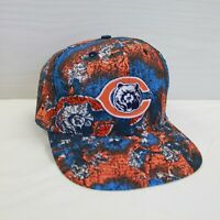 DS Vintage Chicago Bears Apex One All Over Print Snapback Hat Size OSFA NFL
