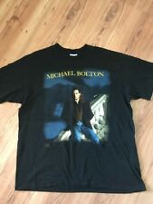Vintage 1991 Michael Bolton T-Shirt Concert World Tour Time Love Tenderness XL