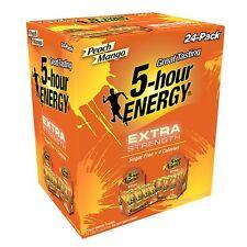 5-Hour Energy Shot, Extra Strength Peach Mango (1.93 oz. ea., 24 pk.)